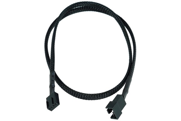 Phobya 4Pin PWM extension 60cm - black