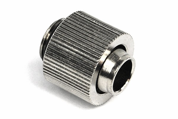13/10mm (10x1,5mm) compression fitting outer thread 1/4 - compact -silver