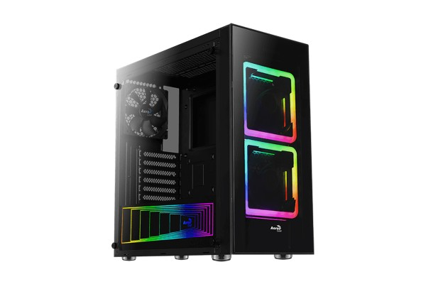 Aerocool Tor-G-V1 Midi Tower RGB - with window
