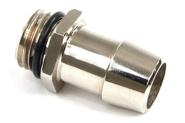 "13mm (1/2"") barbed fitting G1/4 with O-Ring (High-Flow)"
