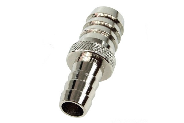 Phobya reducing socket from 13mm to 10mm - silver nickel